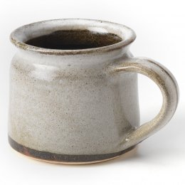 Handmade Ceramic White Speckled Mug