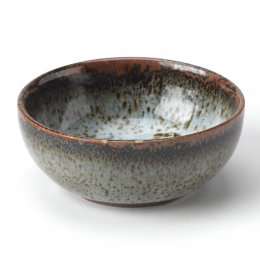 Handmade Blue Ceramic Bowl