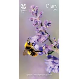 National Trust Slim 2021 Diary