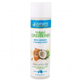 Grahams Natural Coconut & Manuka Honey Conditioner - 250ml