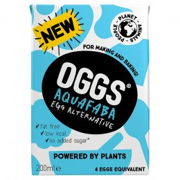 Oggs Aquafaba Egg Alternative - 200ml