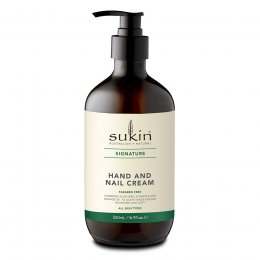 Sukin Hand & Nail Cream - 500ml