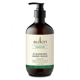 Sukin Cleansing Hand Wash - 500ml