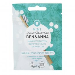 Ben & Anna Toothpaste Tablets without Fluoride - Mint - 40g