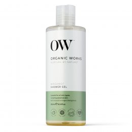 Organic Works Bergamot Shower Gel - 300ml