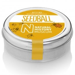 Natural History Museum Beetle Mix Seedball Tin