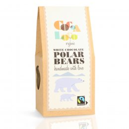 Cocoa Loco White Chocolate Polar Bears - 100g