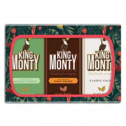 King Monty 3 Bar Gift Pack