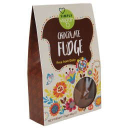 Simply Vegan Chocolate Fudge - 125g