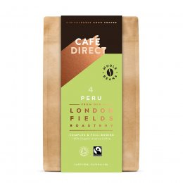 Cafedirect London Fields Peru Organic Coffee Beans - 200g