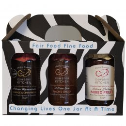 Eswatini Kitchen Flavours of Christmas Jam & Chutney Trio Gift Set