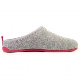 Mercredy Womens Slippers - Grey & Magenta