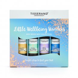 Tisserand Little Wellbeing Wonders Mini Mood Mist Collection Gift Set