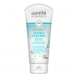 Lavera Basis Sensitive Hydro Feeling 2 in 1 Hair and Body Wash - 200ml
