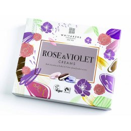 Whitakers Foiled Rose & Violet Creams - 200g