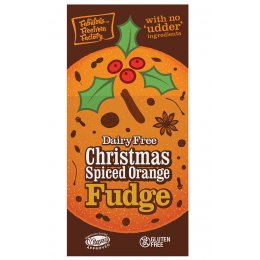 Fabulous Free From Factory Christmas Spiced Orange Fudge - 125g