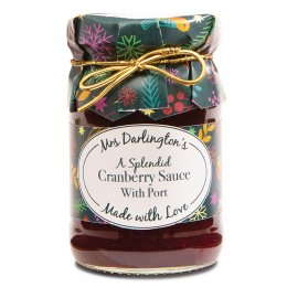 Mrs Darlingtons Cranberry Sauce with Port - 200g