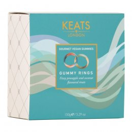 Keats London Goumet Vegan Gummy Rings Gift Box - 150g