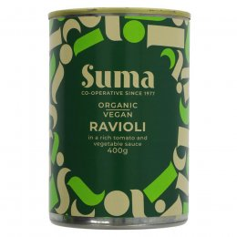 Suma Organic Ravioli in Vegetable Sauce - 400g