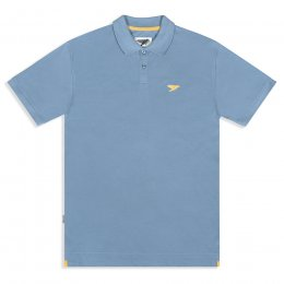Mens Marco Polo Shirt - Faded Denim