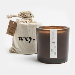 WXY Big Amber Candle - Velvet Woods & Amber 12.5oz