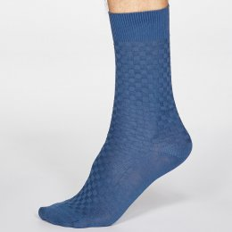 Thought Denim Cameron Organic Cotton Dress Socks Socks - UK 7-11