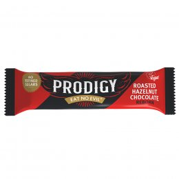 Prodigy Chunky Roasted Hazelnut Chocolate Bar - 35g