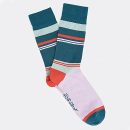 White Stuff Block Stripe Socks