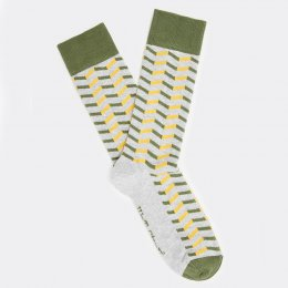 White Stuff Chevron Socks