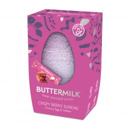 Buttermilk Crispy Berry Sundae Choccy Egg - 170g