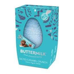 Buttermilk Salted Caramel Crunch Choccy Egg - 170g