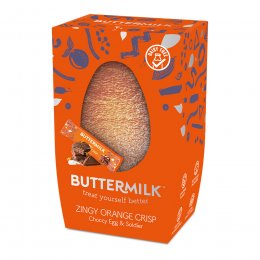 Buttermilk Zingy Orange Crisp Choccy Egg - 170g