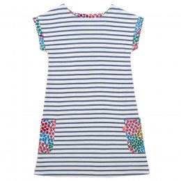 Kite Durdle Door Dress - Navy Stripe