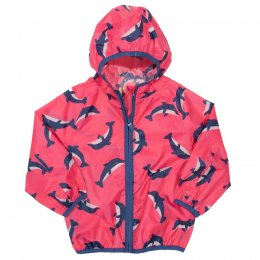Kite Dolphin Puddlepack Jacket - Pink