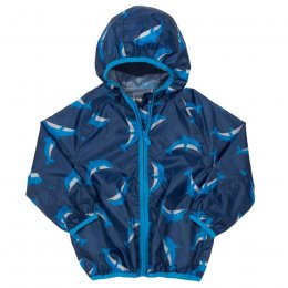 Kite Dolphin Puddlepack Jacket - Blue