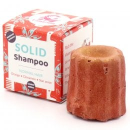 Lamazuna Solid Orange, Cinnamon & Star Anise Shampoo - Normal Hair - 55g