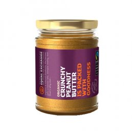 Equal Exchange Fairtrade/Organic Crunchy (With Salt) Peanut Butter 280g