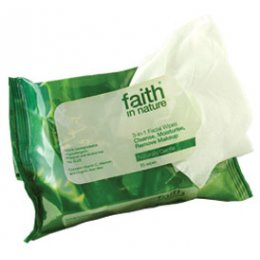 Faith in Nature 3-in-1 Face Wipes