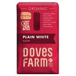 Doves Farm Organic Plain White Flour - 1kg