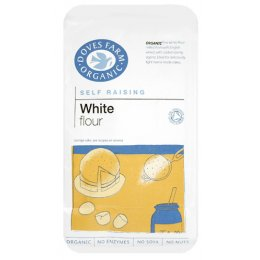 Doves Farm Organic White Self Raising Flour - 1kg