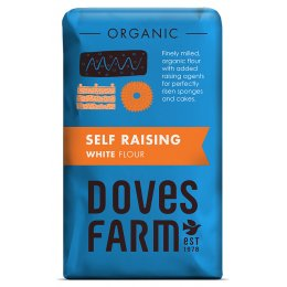 Doves Farm Organic Self Raising White Flour - 1kg