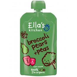Ellas Kitchen Broccoli  Pear & Peas - 120g