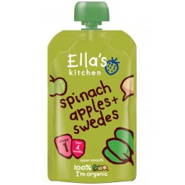 Ellas Kitchen Spinach  Apples & Swede - 120g