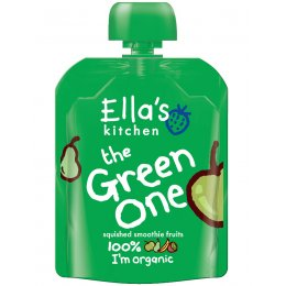 Ellas Kitchen The Green One Smoothie Fruit - 90g