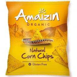 Amaizin Organic Natural Corn Chips - 150g