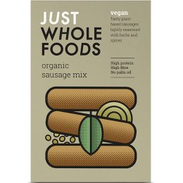 Just Wholefoods Vegetarian Sausage Mix - 125g