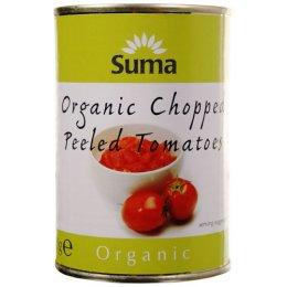 Suma Organic Chopped Tomatoes - 400g