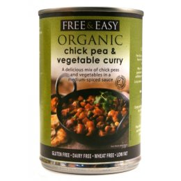 Free & Easy Chick Pea & Vegetable Curry - 400g