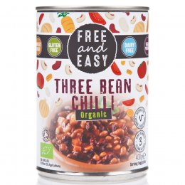 Free & Easy Three Bean Chilli - 400g