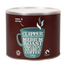 Clipper Fairtrade & Organic Instant Coffee - 500g